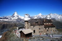 Gornergrat Grado observatory Stock photo [3194369] Switzerland