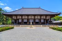 Toshodaiji Kondo stock photo