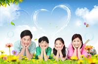 Happy family Stock photo [3197070] Portraits