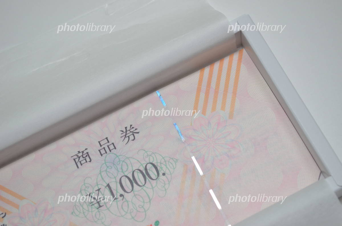Gift certificates Photo