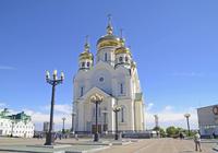 Supaso-Pleo bra Jen skiing Cathedral Stock photo [3296535] Russia