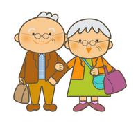 Travel of senior couple [3300032] Senior