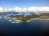 View from Amami Oshima airplane Casali Stock photo [3299996] Kyushu