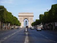Paris Arc de Triomphe famous scenery world heritage Stock photo [3301687] France