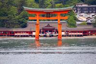 Itsukushima Shrine front Stock photo [3303467] Itsukushima