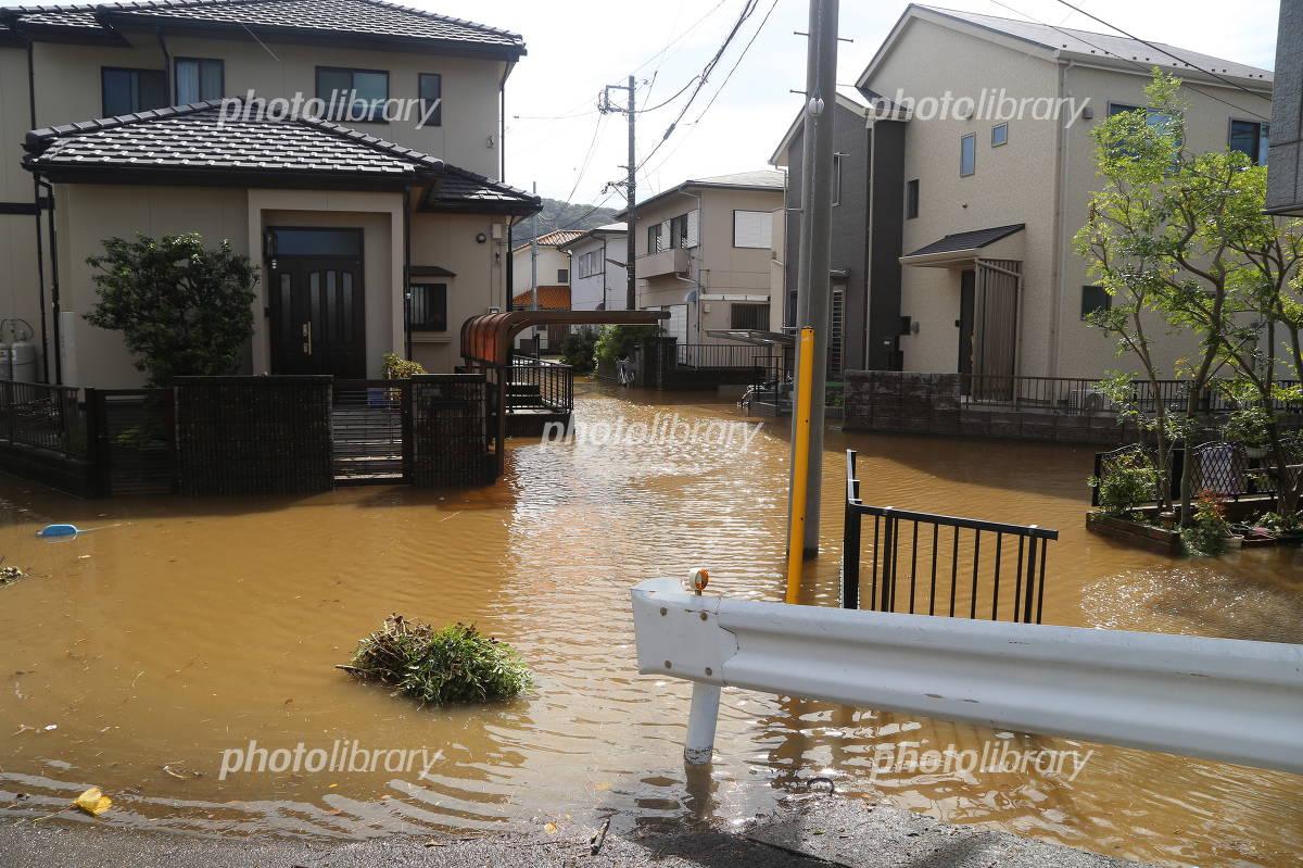 Footprints of typhoon Photo