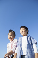 Children of blue sky and smile Stock photo [3394478] Kids