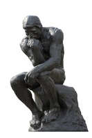 The Thinker Stock photo [3394862] The