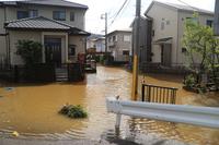 Footprints of typhoon Stock photo [3395597] Disaster