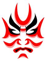 Kumadori [3479763] Kabuki