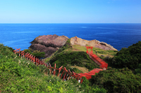 Torii of Yamaguchi Prefecture Nagato Yutani Tsou original 乃隅 Inari Shrine Stock photo [3481789] Sanin