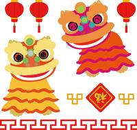 Spring Festival of Lion Dance [3483974] Lunar