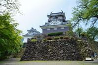 Castle in the Sky, Echizen Ono Castle Stock photo [3490273] Echizen