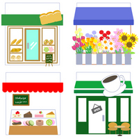 Shops variety [3588937] Bakery