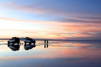 Superb view of the Uyuni salt lake Stock photo [3593818] Uyuni