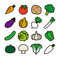 Vegetables icon [3593876] Vegetables