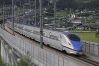 Shinkansen E7 system Stock photo [3595454] Hokuriku