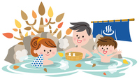 Hot spring seasons [3595683] An