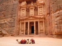 Petra Stock photo [3598410] Middle
