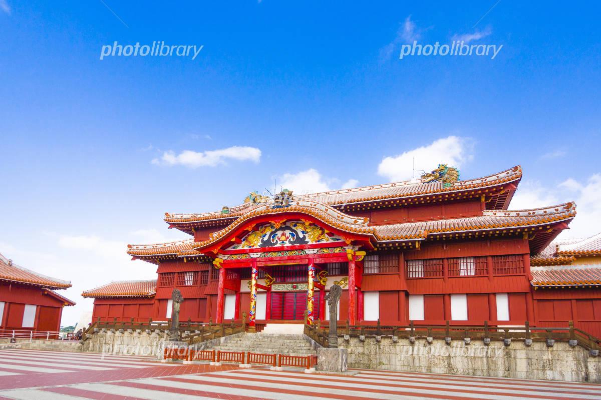 Tadashi of Okinawa Shuri Castle Photo