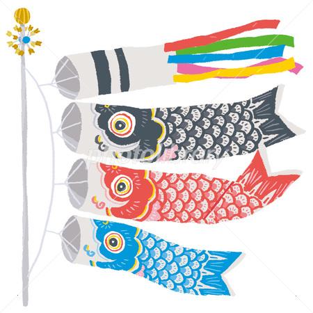 イラスト 鯉のぼり