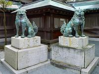 Munakata Taisha guardian dogs pair of Stock photo [3693187] Fukuoka