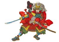 Takeda Shingen stock photo