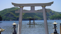 Torii of the sum multi MiyakoYoshi shrine Stock photo [3697409] Sum