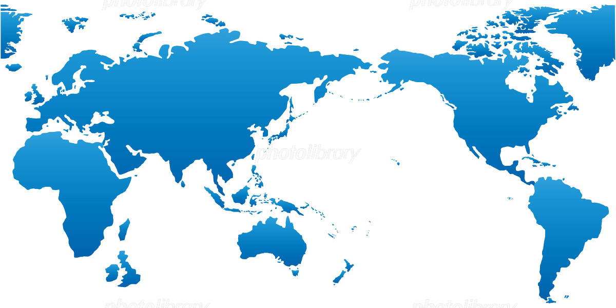 World Map map イラスト素材