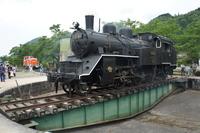 Wakasa railway steam locomotive and the rolling chassis Stock photo [3806338] Wakasa