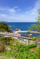 Sanriku Railway Kitariasusen Fudai Village Stock photo [3806635] Sanriku