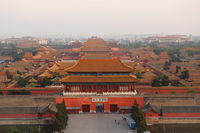Beijing Jingshan Park Jinmu-mon Stock photo [3809702] China