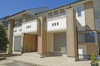 New construction of housing Stock photo [3810611] New