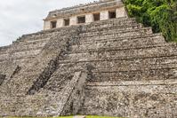 Inscription of the temple, Palenque Mexico Stock photo [3813308] Palenque
