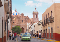 World Heritage Zacatecas historical district Stock photo [3813839] Mexico