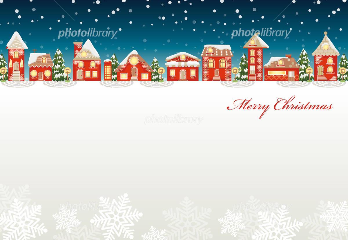 Christmas Town イラスト素材