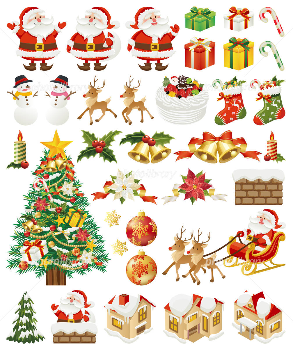 Christmas icon イラスト素材