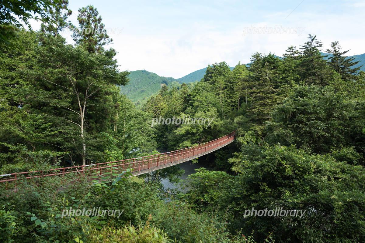 Akikawa valley of the stone bridge Photo