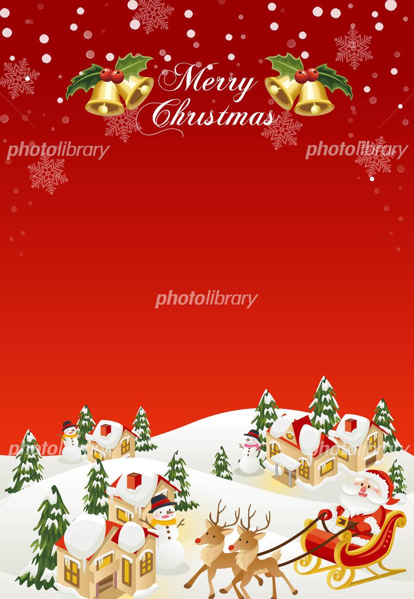 Christmas background イラスト素材