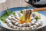 Banded blue-sprat sashimi Stock photo [3913960] Banded
