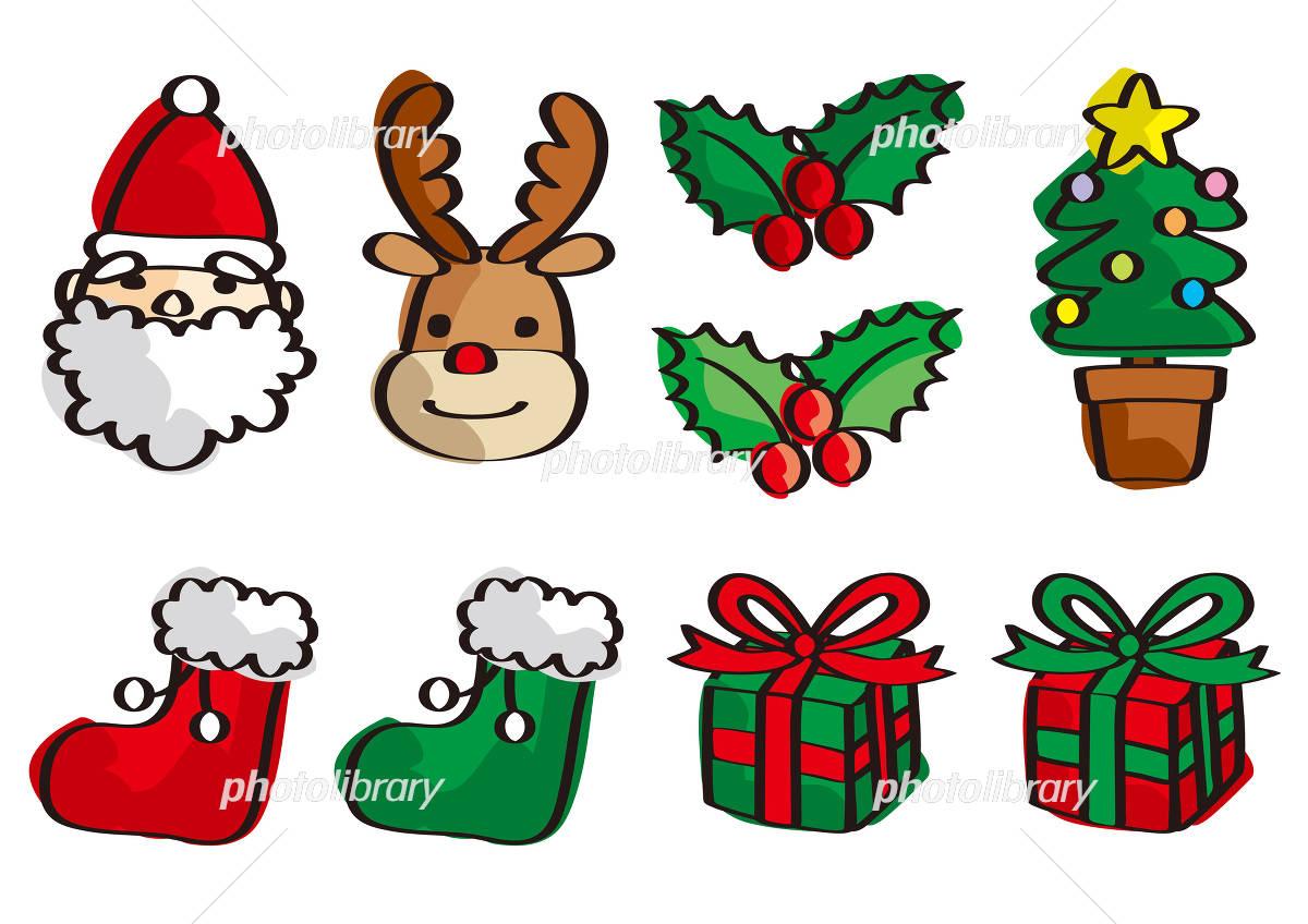 クリスマス 手書き イラスト素材 フォトライブラリー Photolibrary