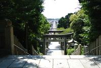 The view from Miyajidake Shrine Stock photo [4000023] Miyajidake