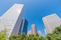 Cluster of high-rise buildings Stock photo [4001261] High-rise