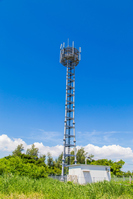 Cell tower Stock photo [4005342] mobile