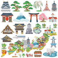 Japan attractions icon Japan