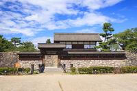 Taiko Gate Nagano Matsushiro town Matsudai-jo Stock photo [4092022] Matsudai-jo