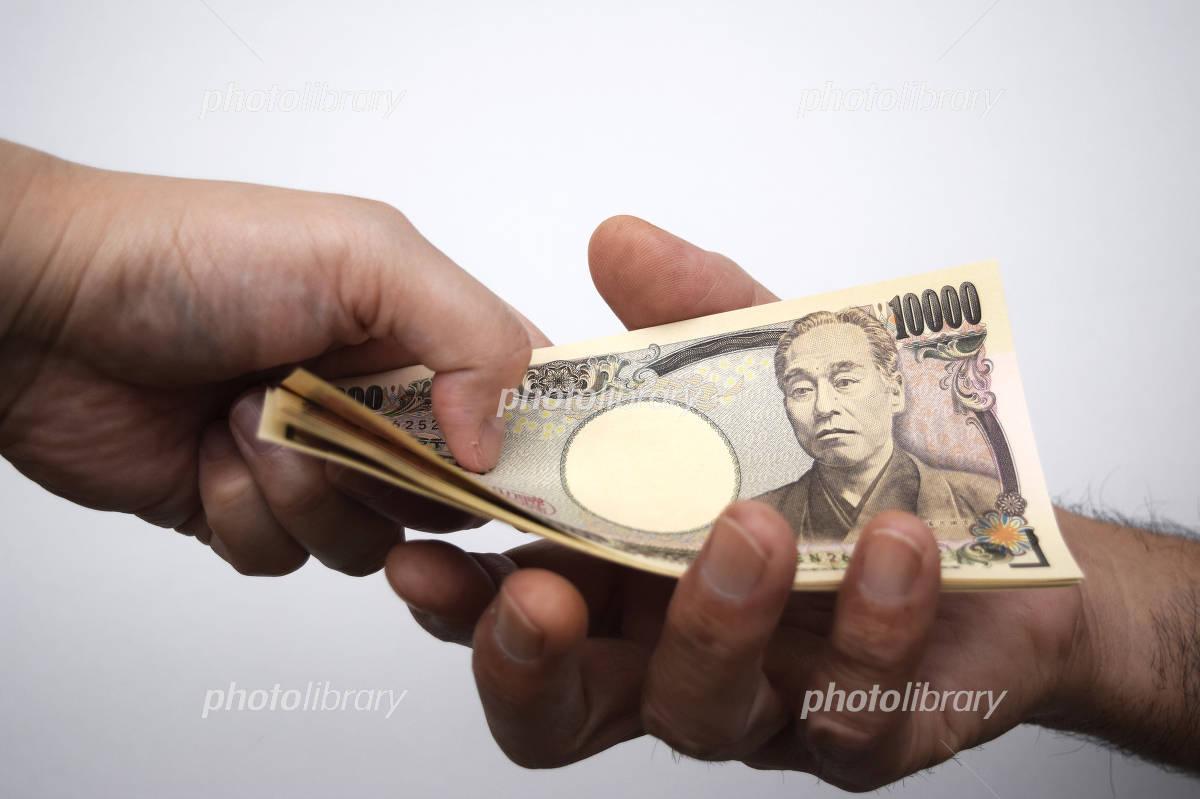 Ten thousand yen bill of image Photo
