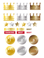 Crown ranking icon [4206739] crown