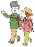 Couple hiking [4311028] hiking