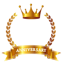 Crown Anniversary icon [4316569] crown